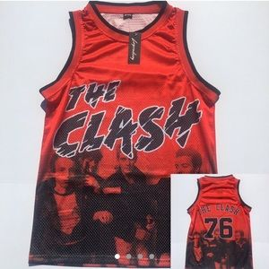 The Clash Basketball Jersey